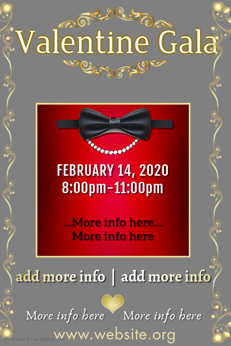Copy of Military Ball Poster