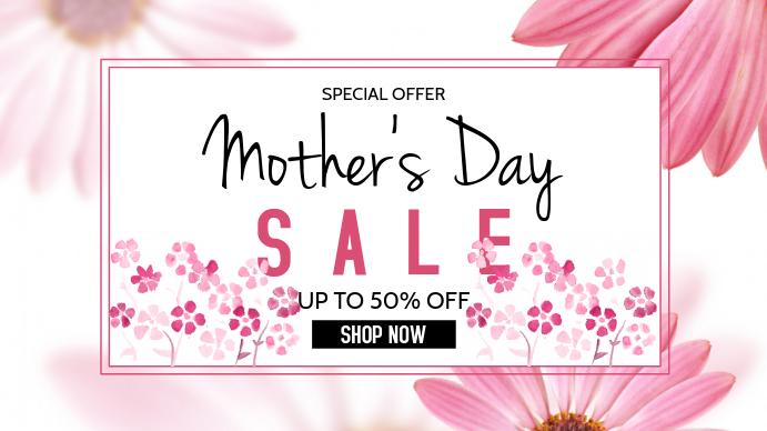 Mother's Day Pantalla Digital (16:9) template