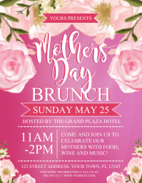 MOTHERS DAY Flyer (Letter pang-US) template