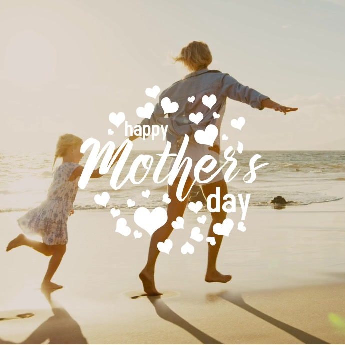 Mothers day Quadrat (1:1) template