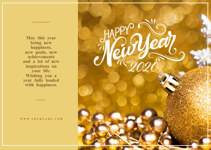 Copy of New year wishes Template