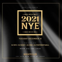 Copy of New Years Eve Party Flyer Template
