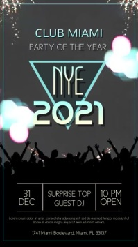 Copy of New Years Eve Party Video Template