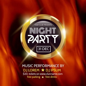 Copy of NIGHT PARTY VIDEO TEMPLATE