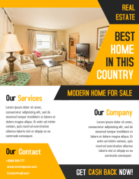 Copy of Open House Property Flyer Real Estate Poster