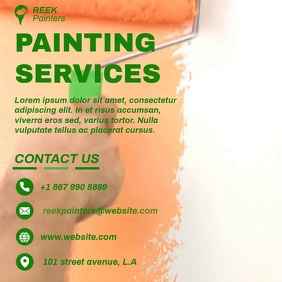 Copy of PAINTING SERVICES VIDEO AD TEMPLATE