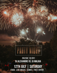 Copy of Party Night Club Flyer