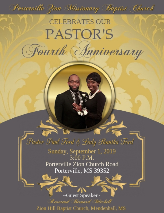 Copy of Pastor Anniversary