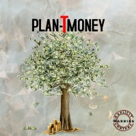 Plant Money Trap Mixtape/Album Cover Okładka albumu template
