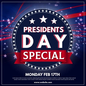 Copy of Presidents Day