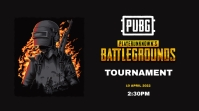 PUBG Tournament Poster YouTube Thumbnail template