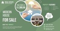 Real Estate Agency Ads Ibinahaging Larawan sa Facebook template