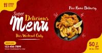 Restaurant ads template