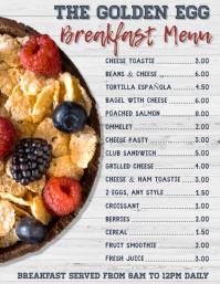 Copy of Restaurant Menu Template