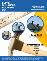 Copy of Roofing Construction Advertisement Fl