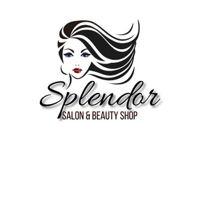 SALON BARBER SHOP Логотип template