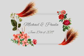 Copy of save the date/wedding/mother's day/ anniversary/beauty