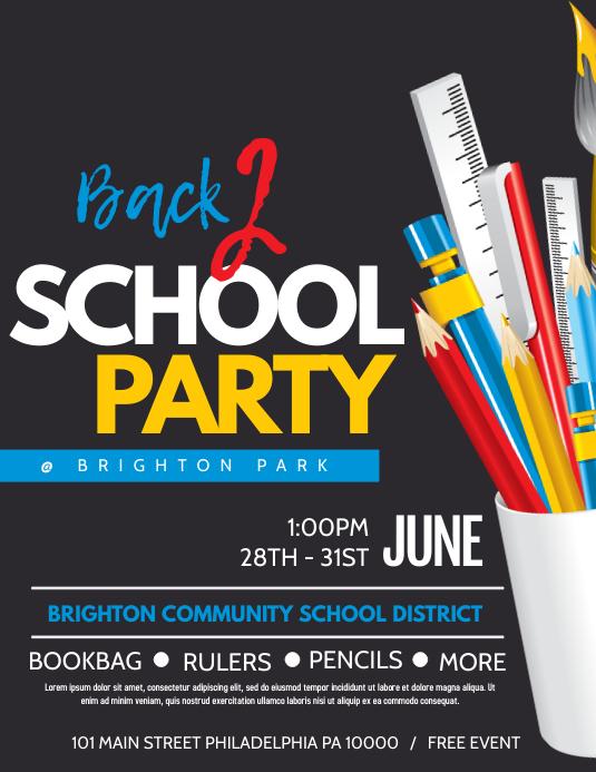 Copy of School party