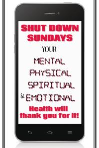 Copy of Shut Down Sundays Poster