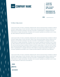 Copy of small business letterhead templates