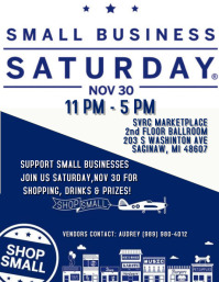 Copy of SMALL BUSINESS SATURDAY FLYER