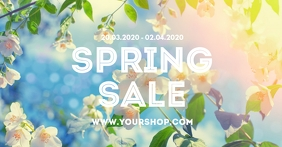 Promotion Spring Sale Store Online Shop Flower