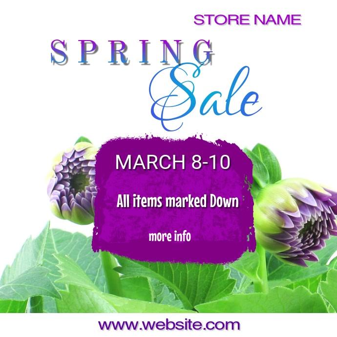 Copy of Spring Sale Video