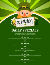 Copy of ST PATRICKS DAY MENU