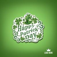 St. Patrick's Day Template Instagram Plasing