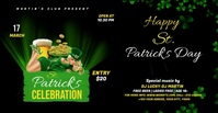 St. Patrick's Day video Template Umkhangiso we-Facebook