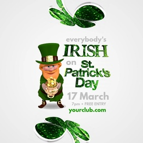 Copy of St. Patricks Day Template