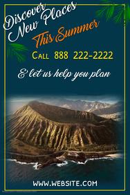 Copy of Summer Getaways Poster Template
