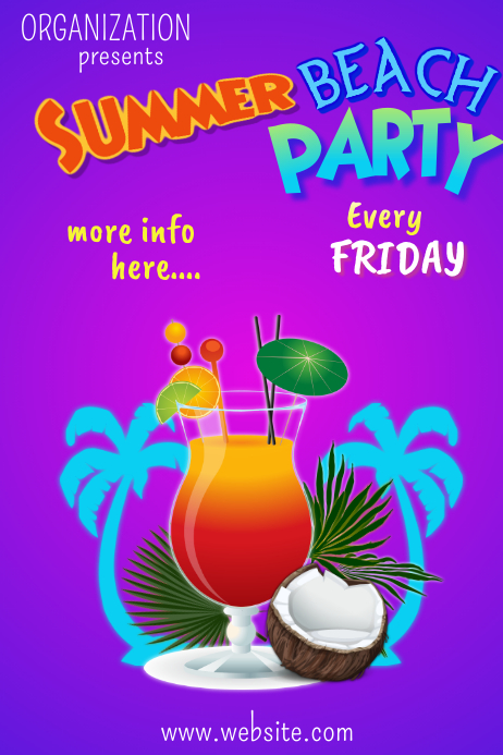 Copy of Summer Party Poster