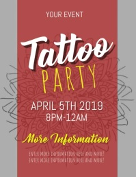 Copy of TATTOO FLYER