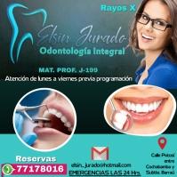 template dental Wpis na Instagrama