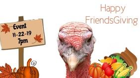 Thanksgiving Tampilan Digital (16:9) template
