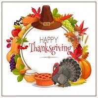 thanksgiving Publicação no Instagram template