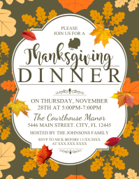 Copy of THANKSGIVING DINNER