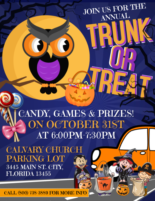 Copy of Trunk or Treat