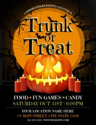 Trunk Or Treat Flyer (US Letter) template