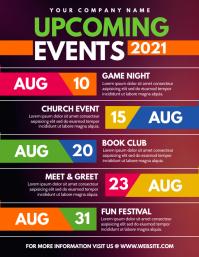 Upcoming Events Iflaya (Incwadi ye-US) template