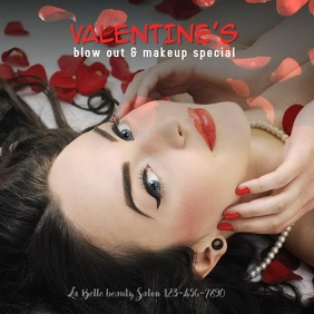 Copy of Valentine's Day Hair Beauty Salon Spe