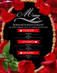 Copy of Valentines Day Menu