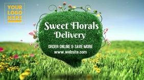 Vege & fruits digital ad template Digitalanzeige (16:9)