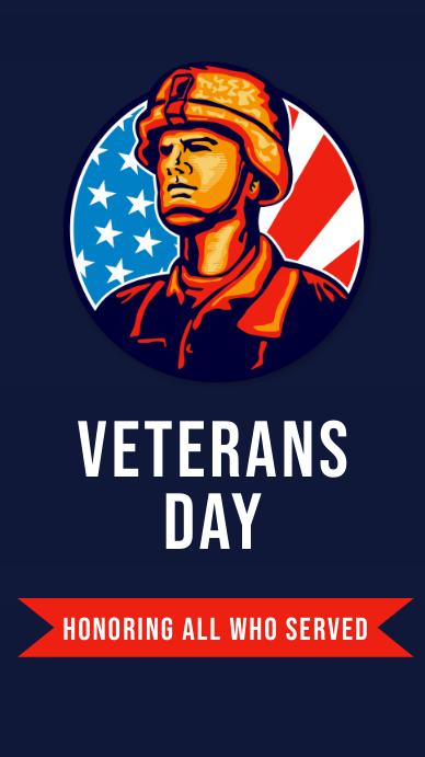 veterans Instagram Story template