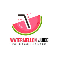 Watermelon Логотип template