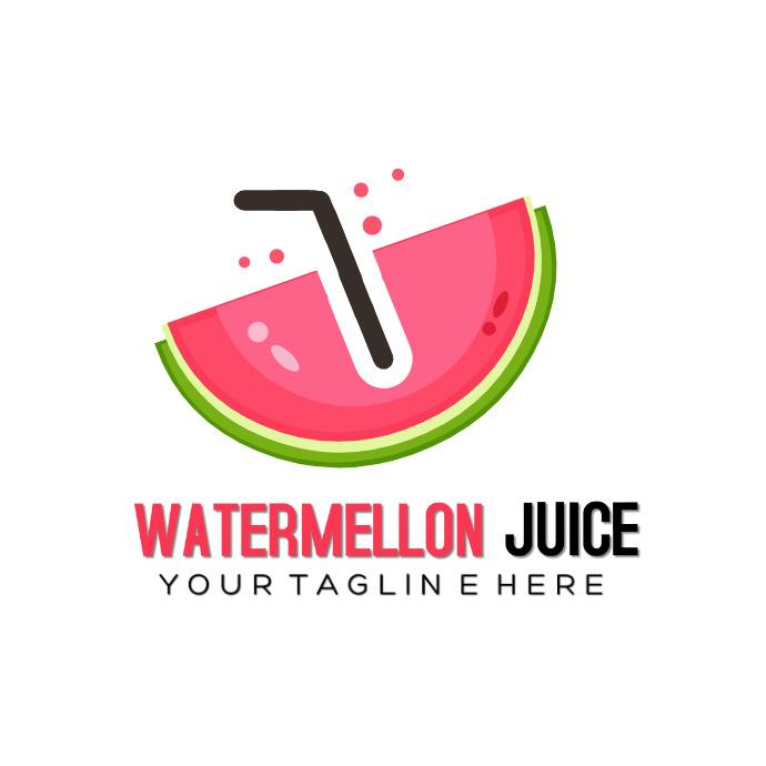 Watermelon Logotipo template