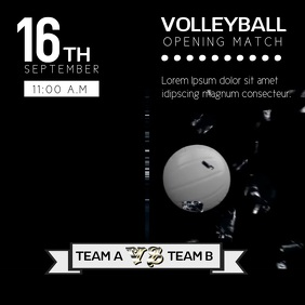 Copy of VOLLEYBALL VIDEO TEMPLATE