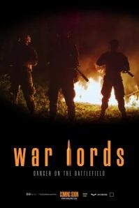 War Movie Poster Плакат template