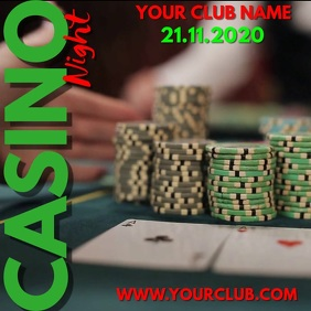 Casino Night Video Template